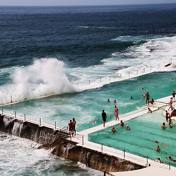 The Icebergs At Bondi Beach by LozzaElizabeth