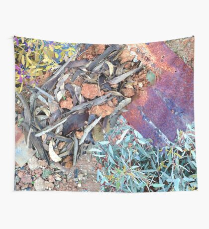 Australian Textures Wall Tapestry