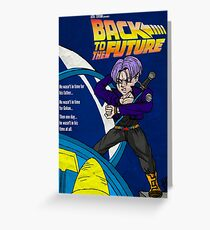 Back From The Future Greeting Card