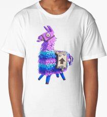 Llama piñata fortnite Long T-Shirt
