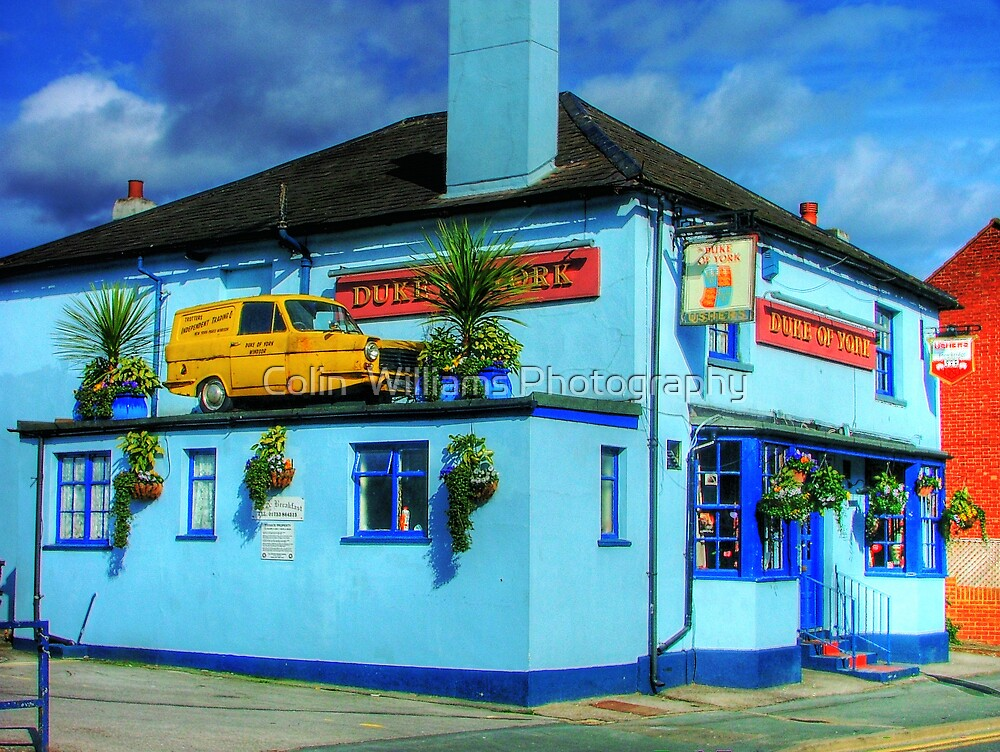 "The Duke Of York, Windsor - ""Del Boy"" Solves the Parking Problem !! by Colin  Williams Photography"