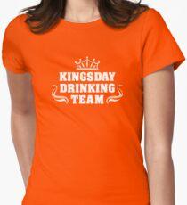 Kingsday Drinking Team | Koningsdag Kleding Tailliertes T-Shirt