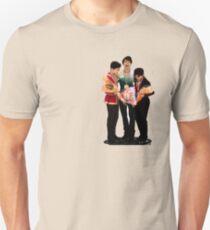 Yuzuru Hanyu, Nathan Chen und Shoma Uno Slim Fit T-Shirt