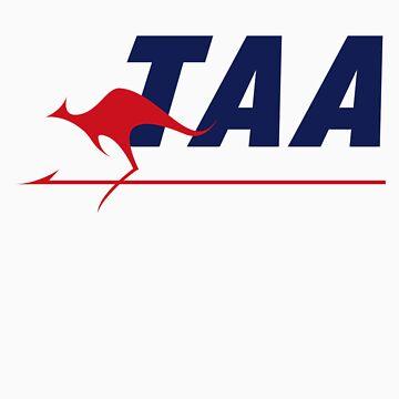 Trans Australian Airlines (TAA) by jimmyraynes