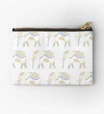 Decorated Indian Elephant  Studio Pouch