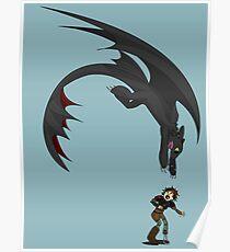 Dragon Pounce Poster