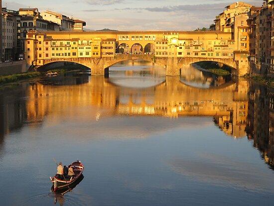 Ponte Vecchio by John Douglas