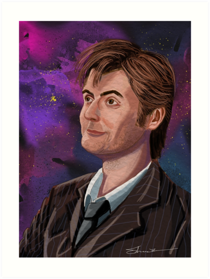 David Tennant the 10th Doctor by TheresaLammon