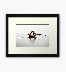 Soak in the Love  Framed Print