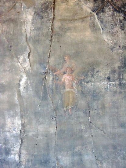 Pompeii Wall by John Douglas