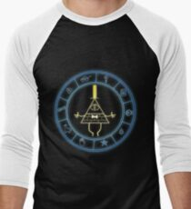 """Bill's Wheel"" from Gravity Falls Men's Baseball ¾ T-Shirt"