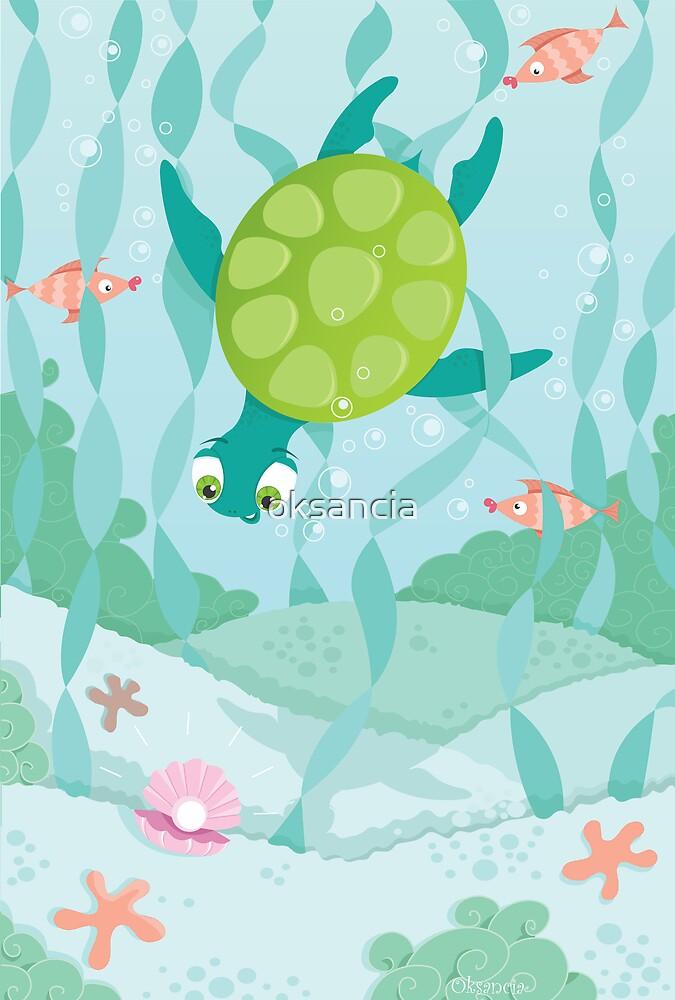 Turtle-diver by oksancia