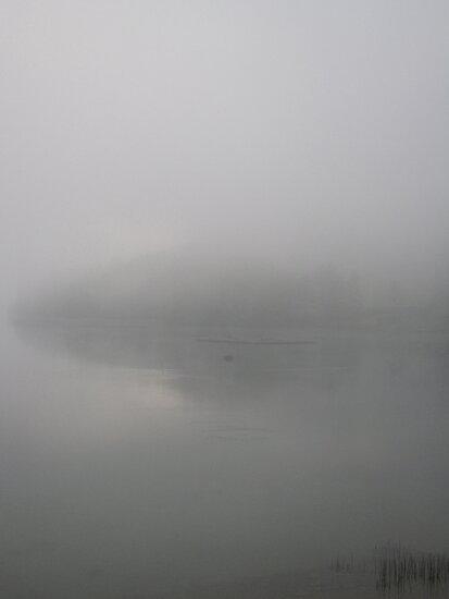 Early Morning on Lake Fuschl by John Douglas