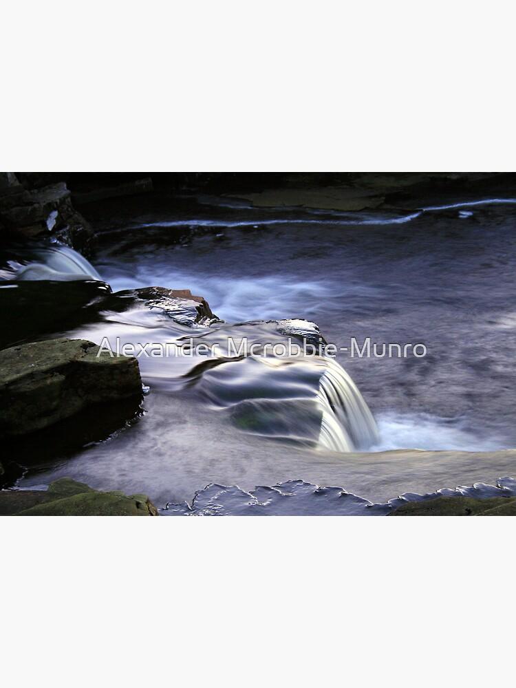 Ice Flow by Alexanderargyll