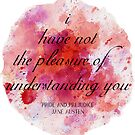 Pride and Prejudice by Jane Austen book quote by zoellarose