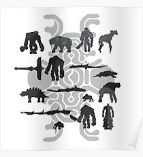 Sixteen Colossi Poster