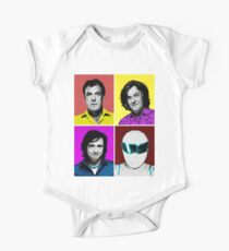 Top Gear Inspired Pop Art, All Personalities in One One Piece - Short Sleeve