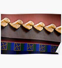 Forbidden City Eave Poster