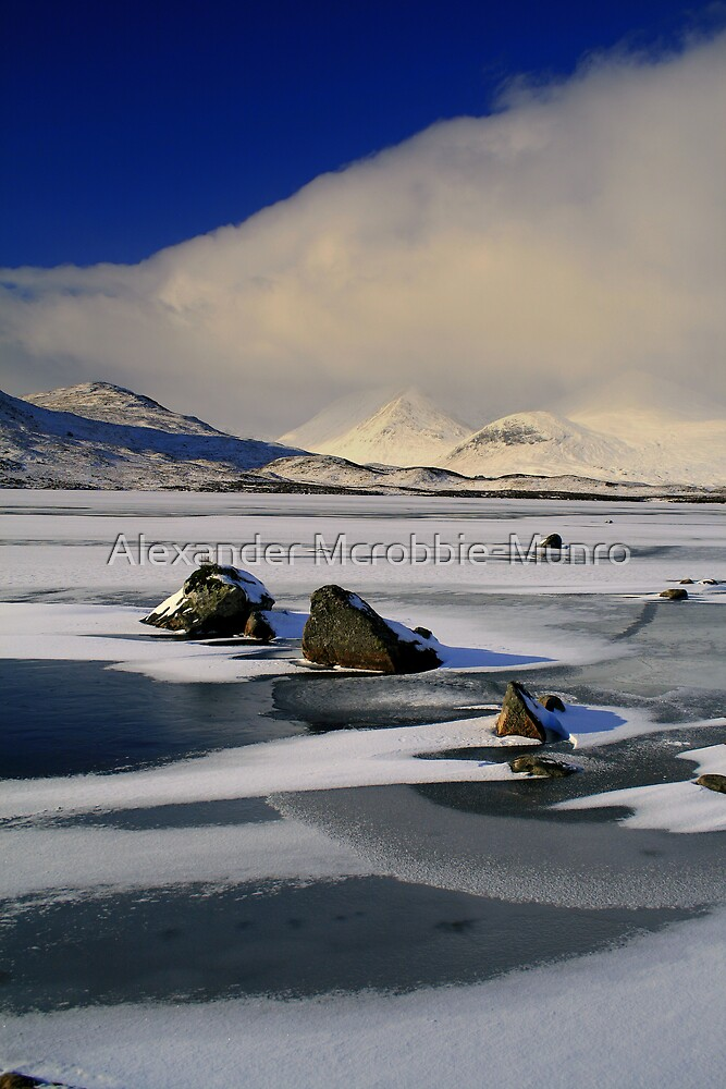 Blackmount Snowstorm by Alexander Mcrobbie-Munro