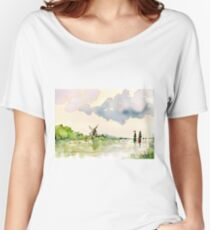 Passing Cloud Women's Relaxed Fit T-Shirt