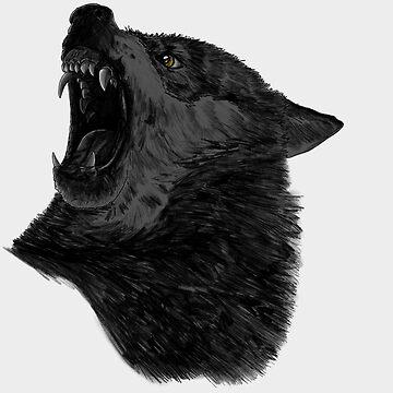 Dark Wolf by CarlaBeltra