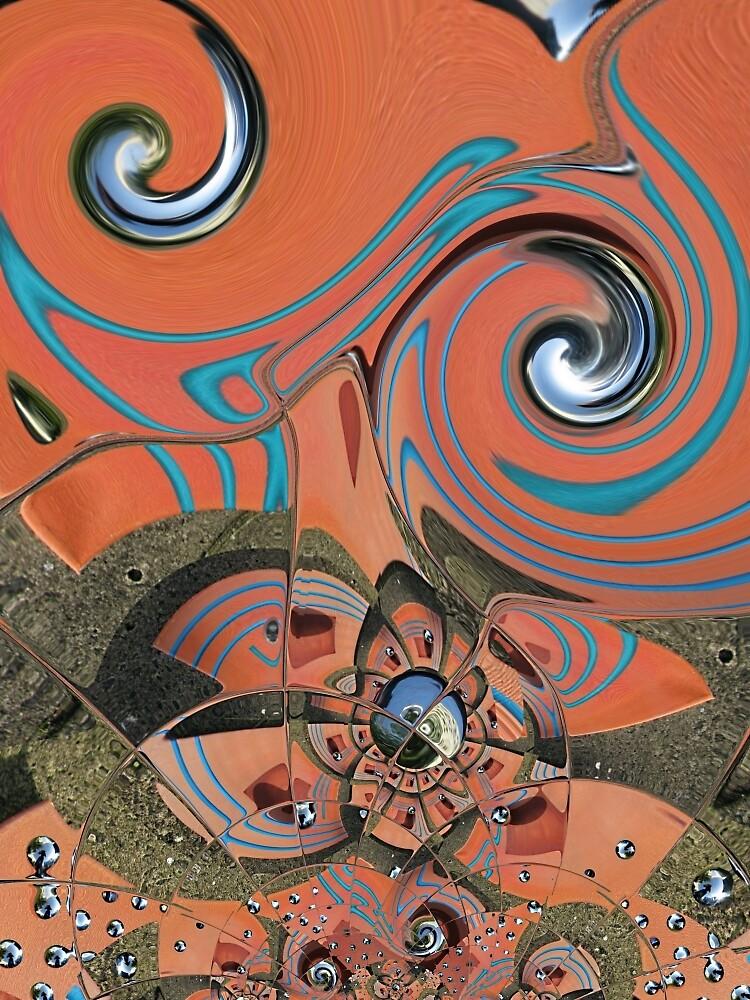 Terracotta Vertigo by Gordon Stead