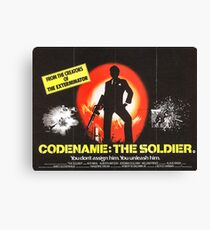 Codename the Soldier Canvas Print