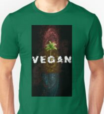 Veganemo change your vision  vegan vegetarien animals environment Unisex T-Shirt