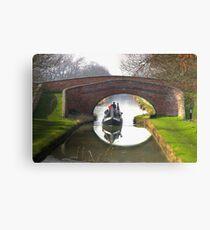 Bridge 95 - Braunston Canvas Print