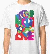 Colorful Typography  Classic T-Shirt