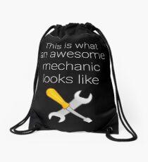 This I What An Awsome Mechanic Looks Like Drawstring Bag