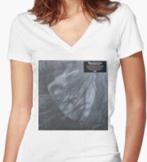 Waxahatchee - out in the storm vinyl LP sleeve art fan art Women's Fitted V-Neck T-Shirt