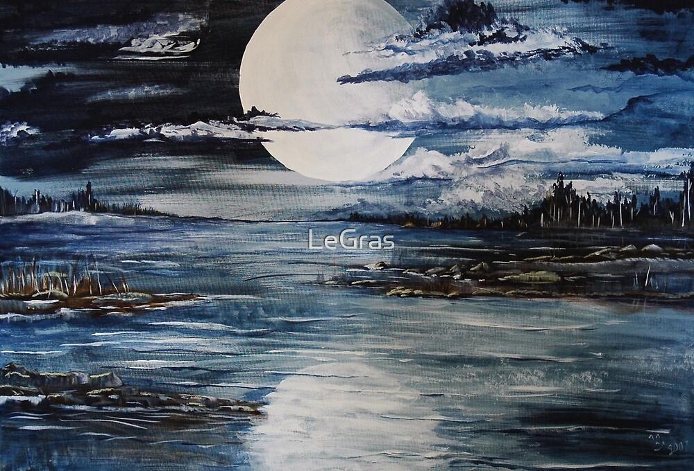 Full Moon Rising by LeGras
