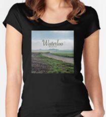 The Battle of Waterloo, Waterloo, Belgium - Professional Photo Women's Fitted Scoop T-Shirt