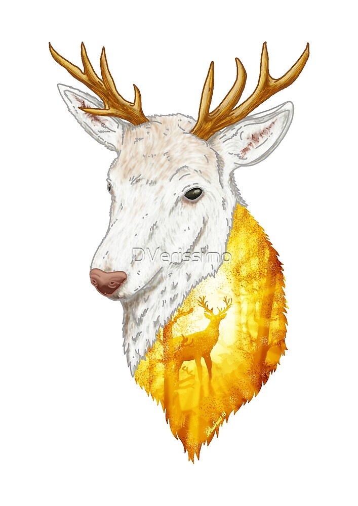 Enchanted Stag by DVerissimo