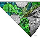 Rainbow Mandala Collaboration ~ Longing by sandygrafik