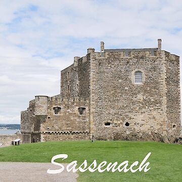 Blackness Castle - Fort William in Outlander by goldyart