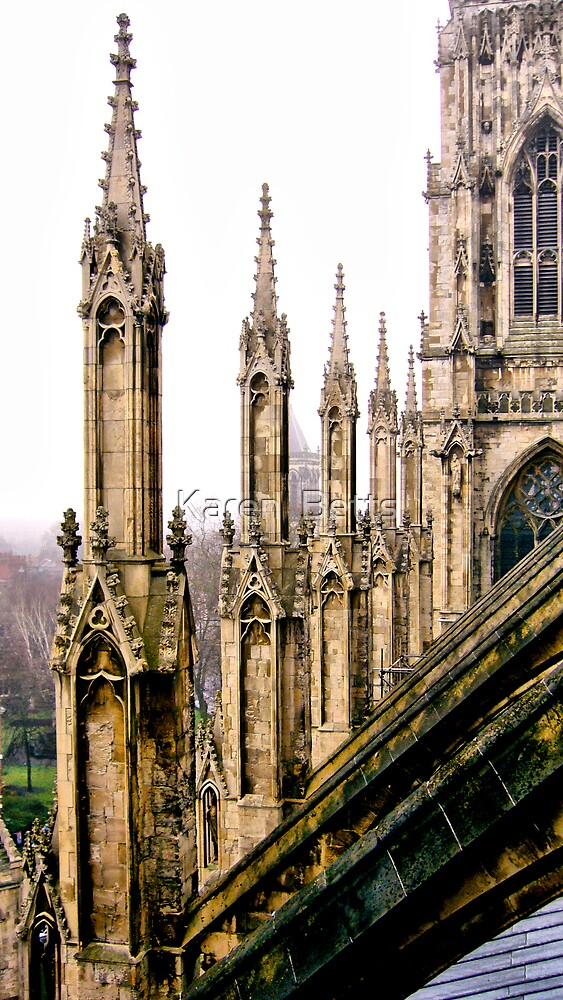 York Spires by Karen  Betts