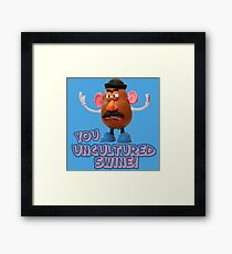 Mr Potato Head from Toy Story Framed Print