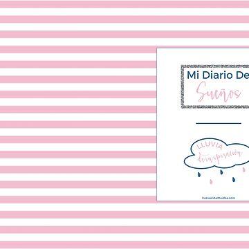 Cuaderno de Sueños Pink Navy de elperrodepapel