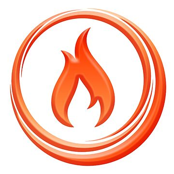 Fire, Symbol, Burn, Hot, Combustion, by TOMSREDBUBBLE