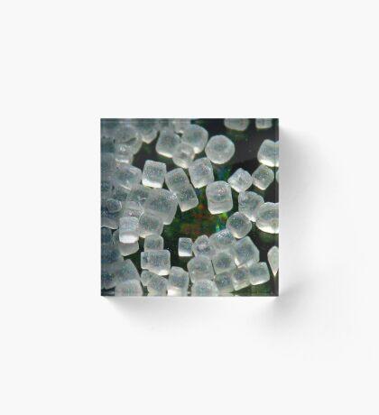 Grains of Salt Acrylic Block