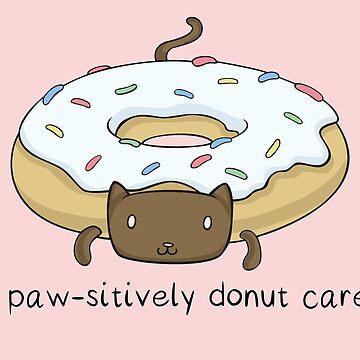 Cat Donut - I Paw-sitively Donut Care Kitten de Rvaya