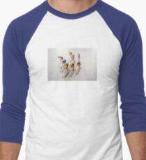 Cyclists 1 Men's Baseball ¾ T-Shirt