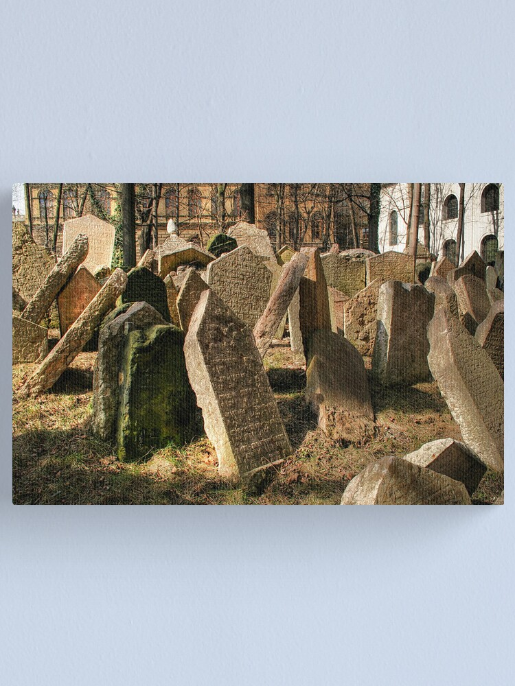 Alternate view of Tombstones Canvas Print