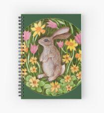 Mandala 27. Rabbit Spiral Notebook