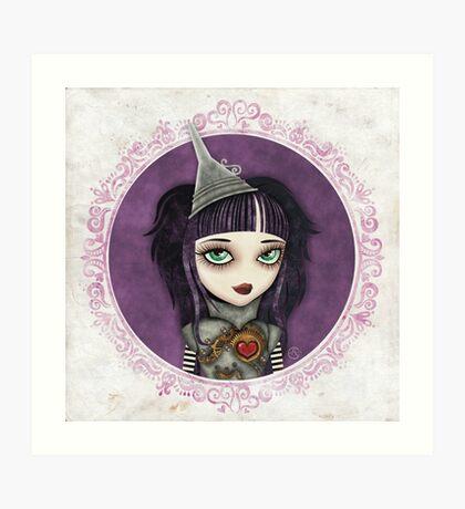 Tin Girl Art Print
