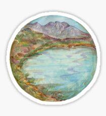 Mandala - lochview Sticker