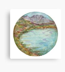 Mandala - lochview Canvas Print
