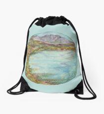 Mandala - lochview Drawstring Bag